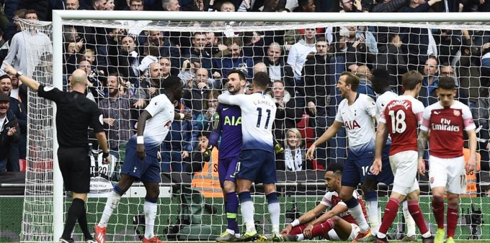 El Tottenham empata 32 partidos después
