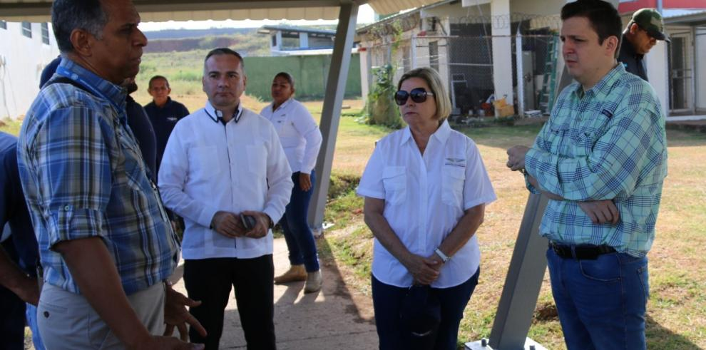 Titular de Gobierno inspecciona trabajos en el Centro de Adolescentes de Las Garzas