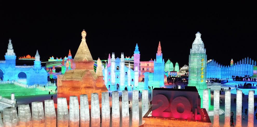 El Espectacular Festival de Hielo y Nieve en Harbin