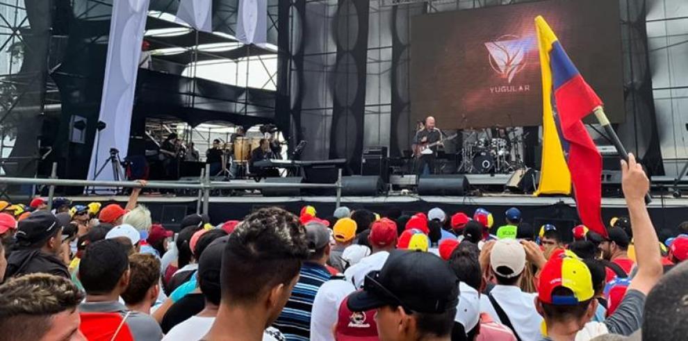 Salen del aire en Venezuela canales que transmitían concierto por ayudas