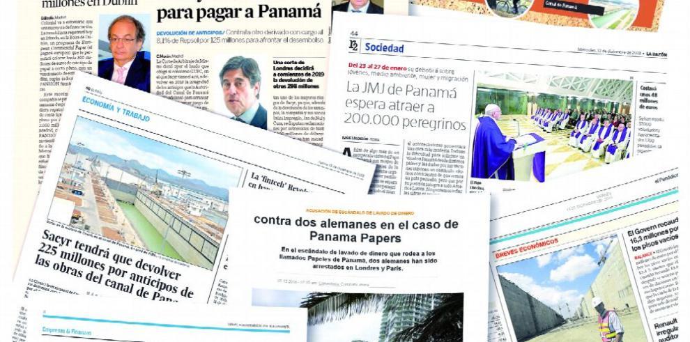 Pleitos entre GUPC y el Canal, en la agenda informativa europea
