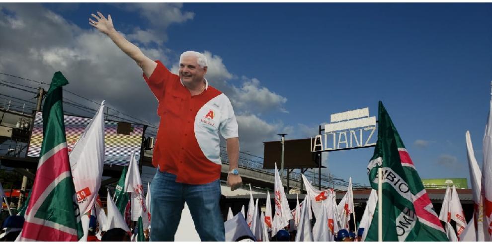 Martinelli también irá por la Alcaldía de Panamá por el Partido Alianza
