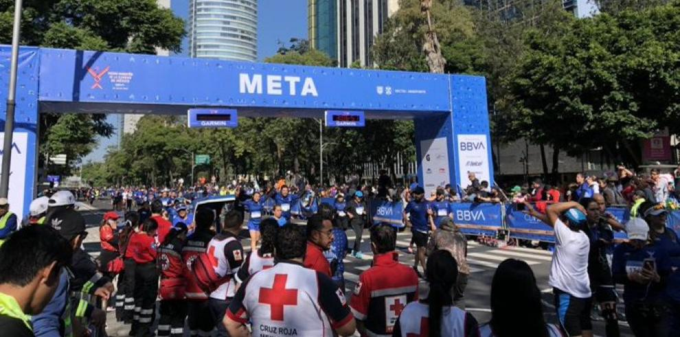 Corredor fallece de un infarto en el Medio Maratón de la Ciudad de México