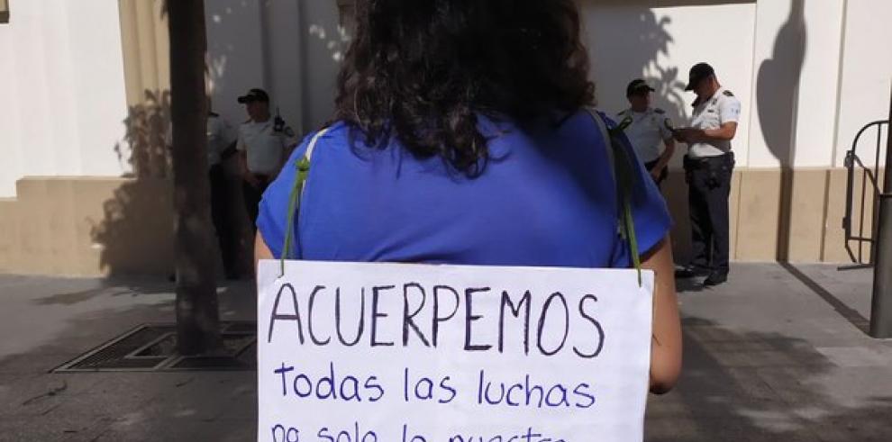 Guatemaltecos protestan contra el acuerdo migratorio de asilo con EEUU