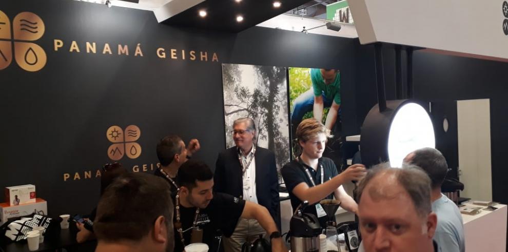 Empresas panameñas participan en la feria de café especial en Alemania