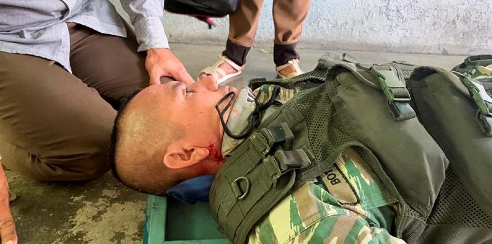 Un herido en enfrentamientos en cercanías de la frontera colombo-venezolana