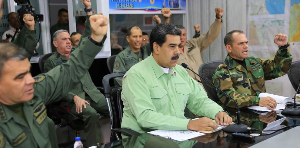 Maduro dice jamás se