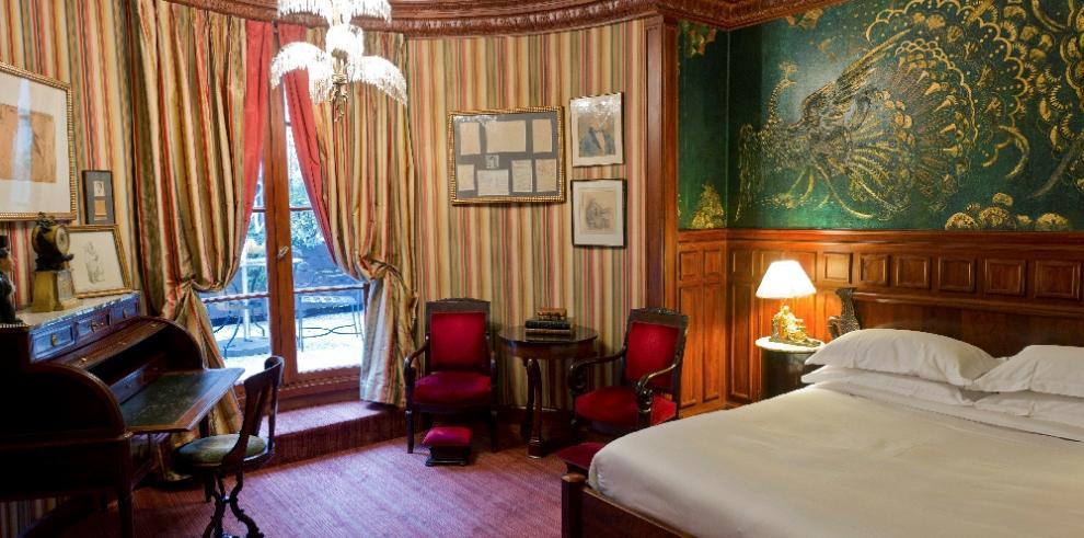 La habitación en la que Oscar Wilde murió como Sebastian Melmoth