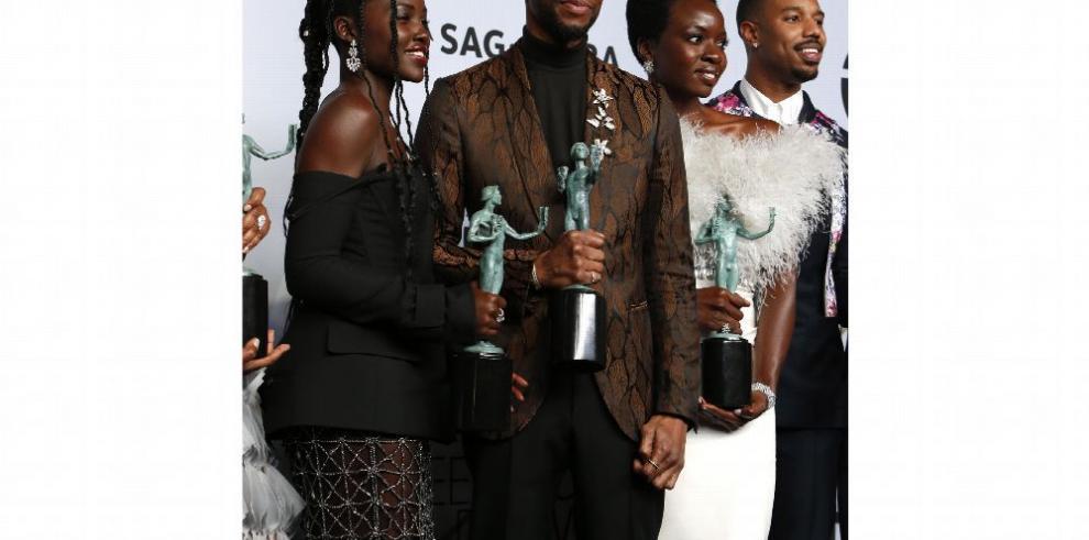 'Black Panther' reina en los premios del Sindicato de Actores