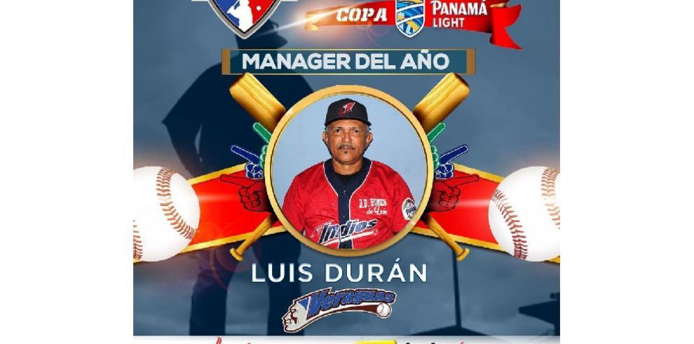 Luis Durán director del año del Campeonato de Béisbol Mayor 2019
