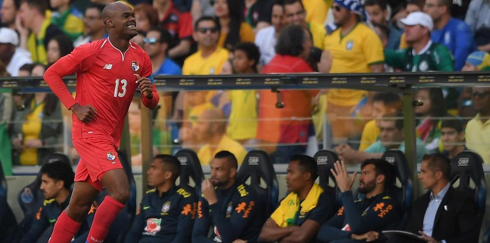 Panamá no se deja de la 'Canarinha' y empata en amistoso