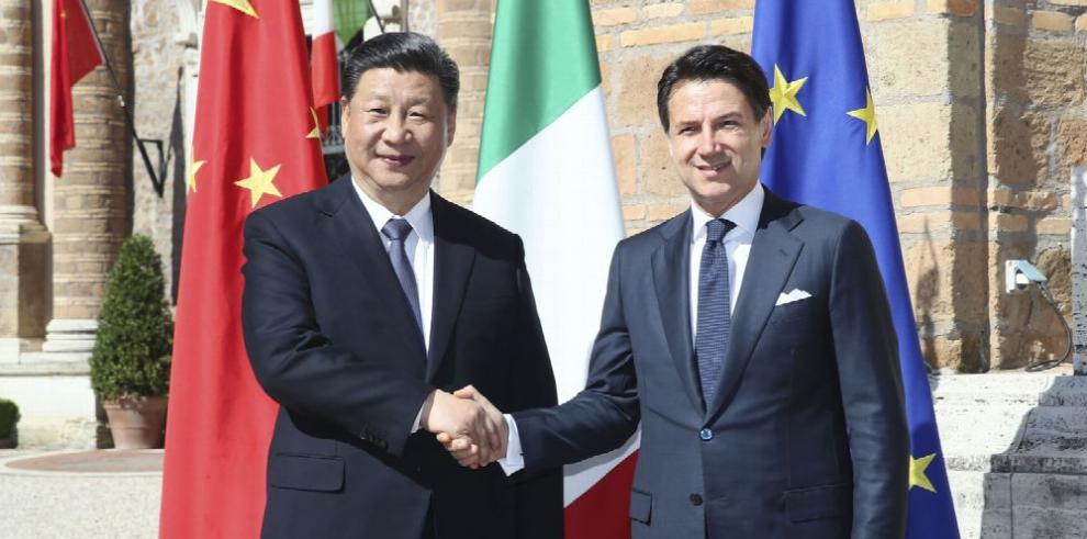 Roma acuerda con Pekín respaldar Nueva Ruta de la Seda