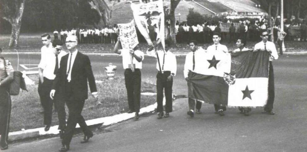 Los jóvenes que lucharon por la soberanía de Panamá