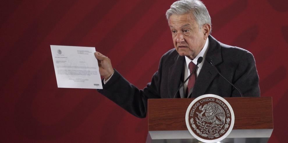 Presidente de México acredita no tener bienes en su declaración patrimonial