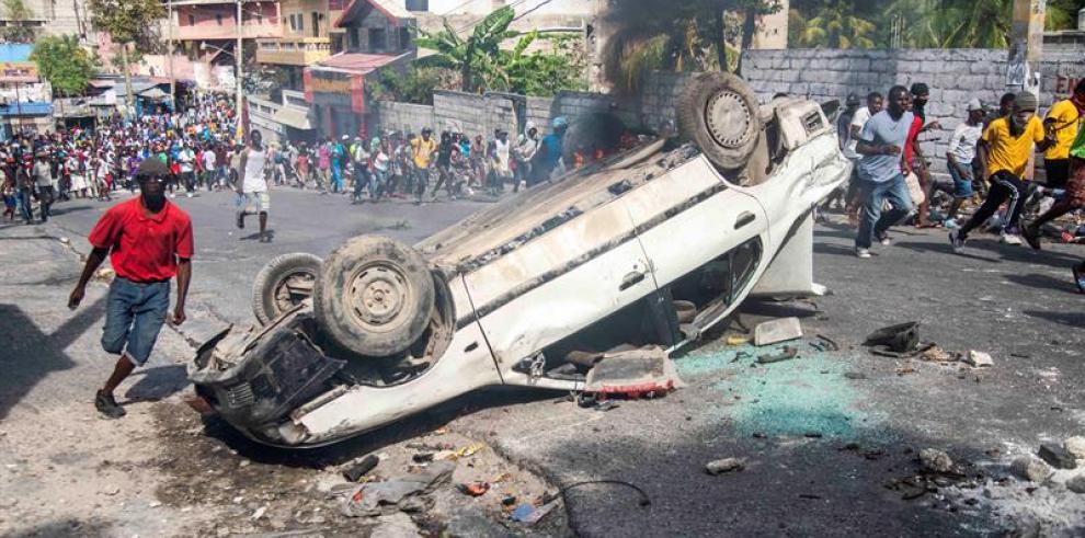 La crisis en Haití se agrava después de una semana de violentas protestas