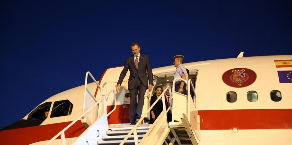 El rey Felipe VI se encuentra en Panamá para la toma de posesión de Cortizo