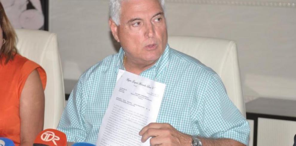 Decretan receso enjuicio oral de Martinelli