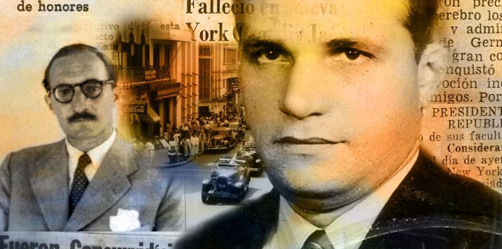 Panamá en el árbol de Gernika; la historia de una amistad