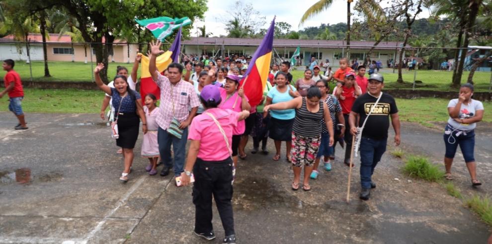 Kankintú, Utira y El Calabacito ya tienen representante