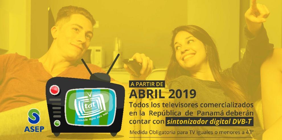 Televisores con sintonizador DVB-T serán obligatorios a partir del 1 de abril