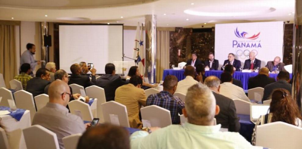 Comité Olímpico de Panamá rinde informes y aprueba presupuesto