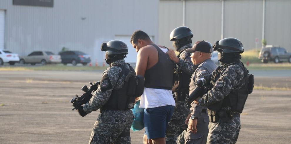 Marshall, el detenido número 13 de Punta Coco