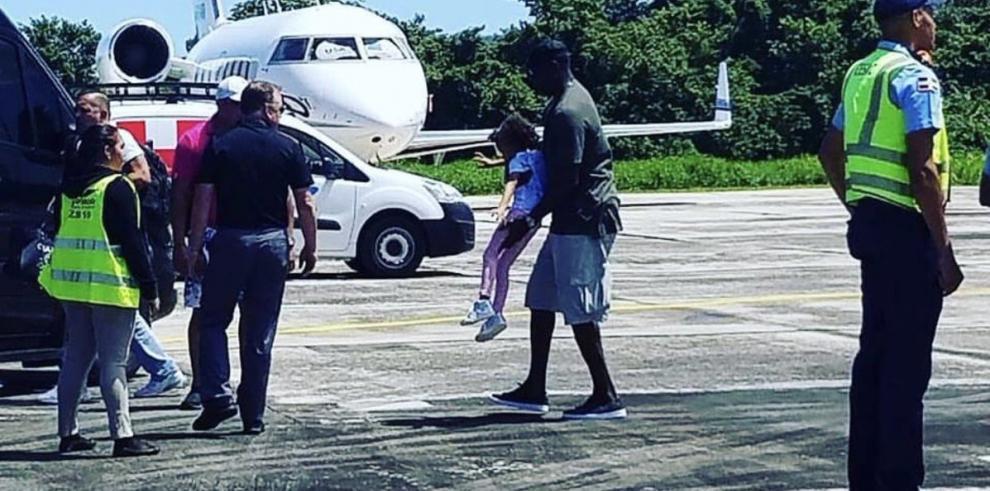 Michael Jordan visita República Dominicana junto a su familia