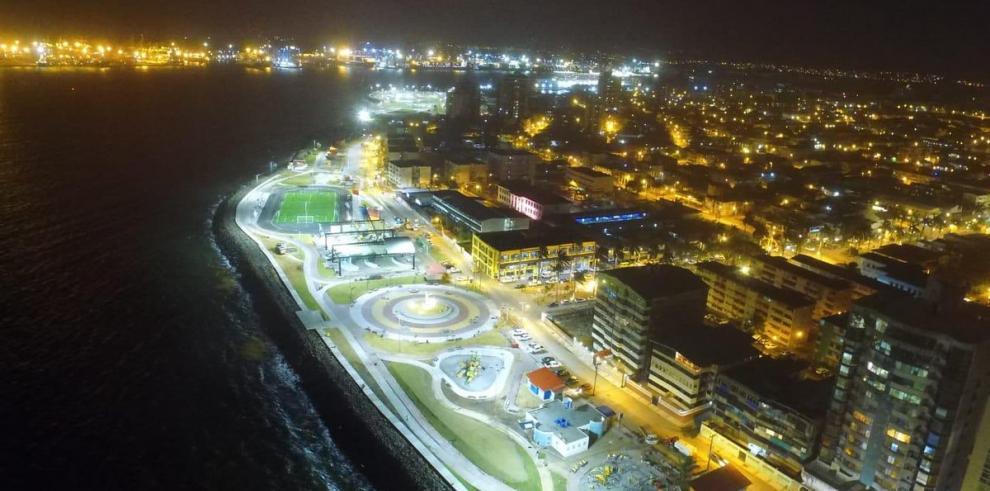 Varela inaugurá el próximo sábado 13 la segunda fase del Paseo Marino de Colón