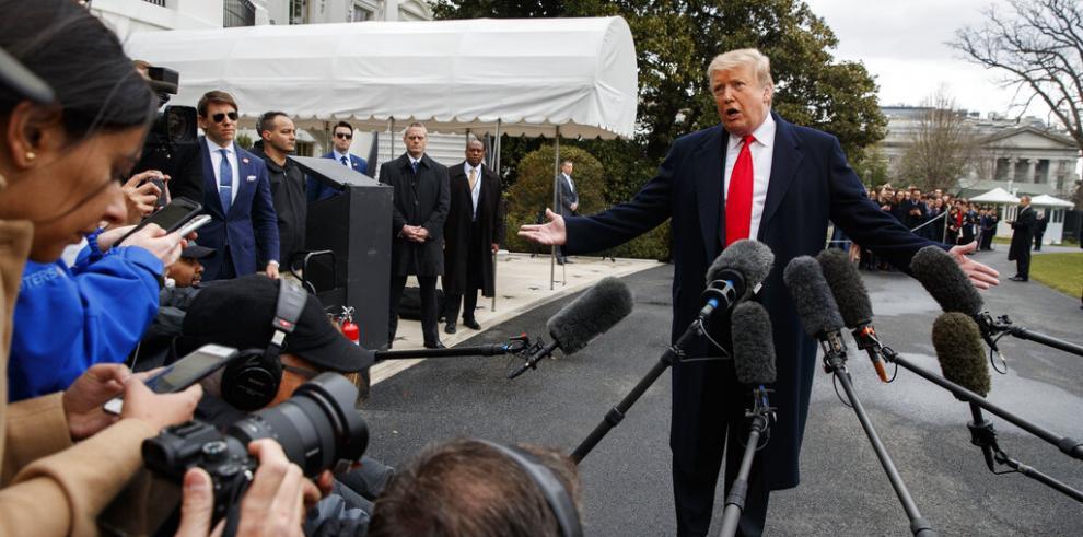 Trump no cenará con reporteros de la Casa Blanca