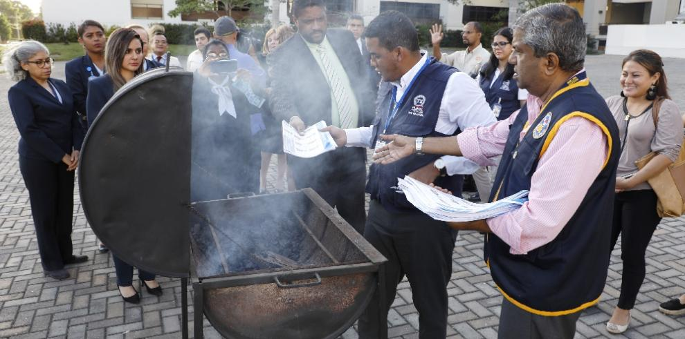 Tribunal Electoral declara culminación del voto adelantado