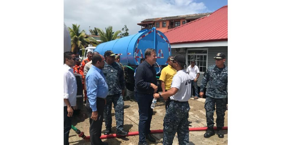 Abastecerán de agua potable a residentes y a turistas en Isla Colón