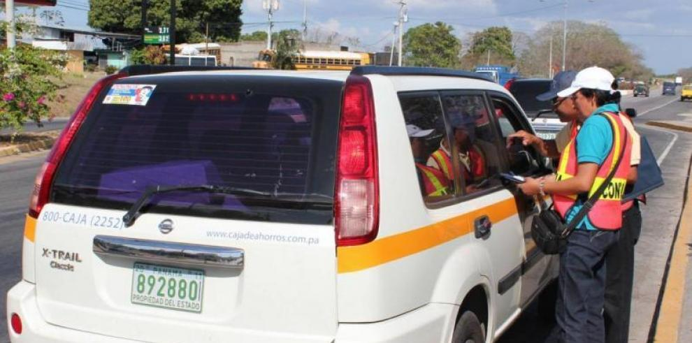 Un total de 97 conductores de carros oficiales sancionados durante el Carnaval