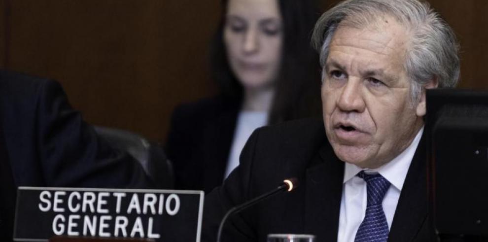 Almagro aboga por una OEA firme para defender una región libre de dictaduras
