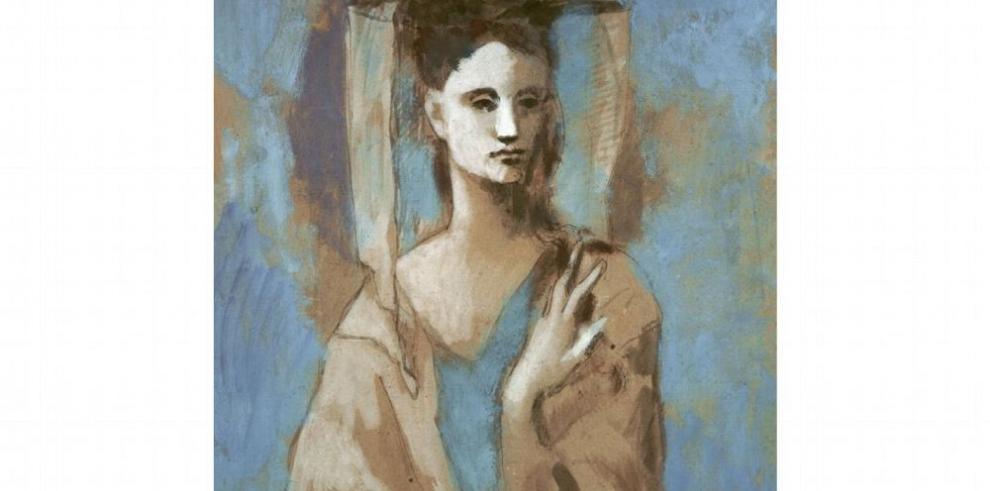 Un Picasso, entre el azul y el rosa