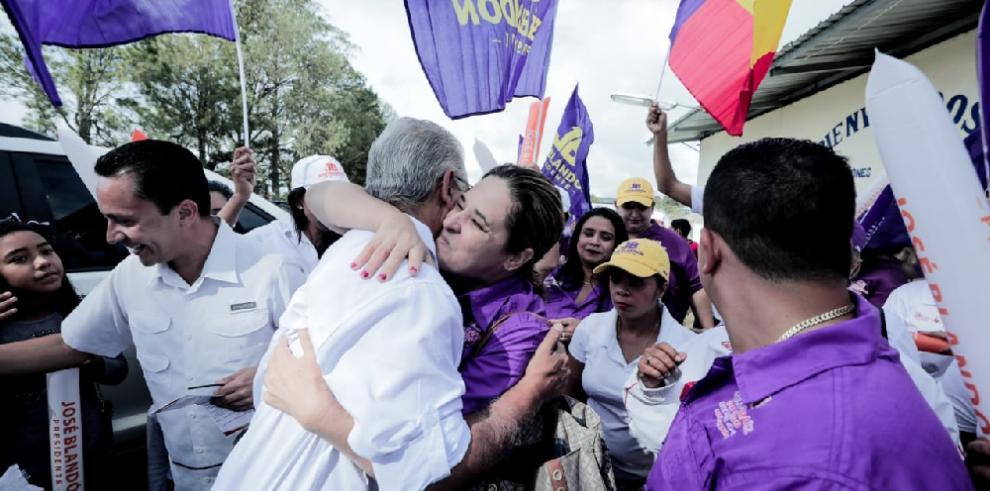 'Invertiré en el interior con la misma fuerza que en la capital', Blandón