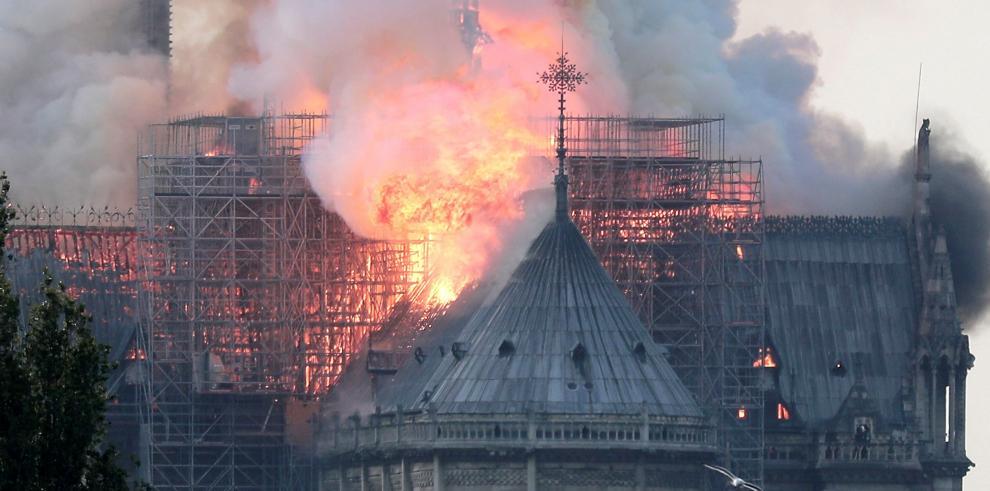 El incendio de Notre Dame se une a otros acaecidos en catedrales en el mundo