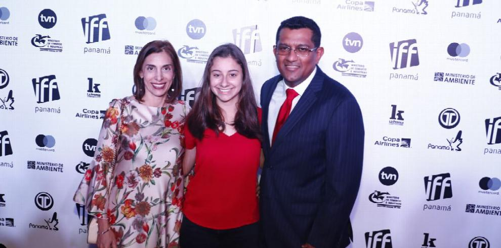 Gran noche de gala en el cine panameño