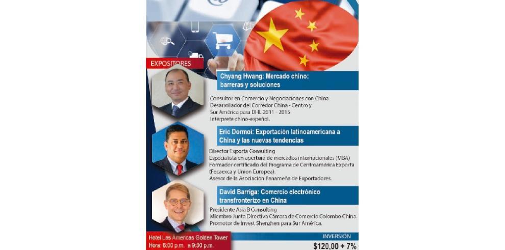 Simposio sobre cómo hacer comercio electrónico en China