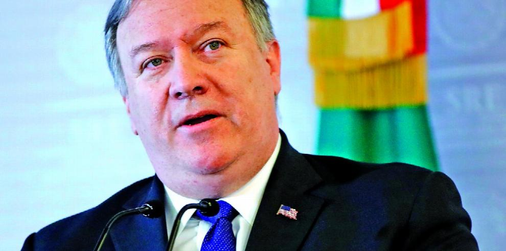 Pompeo: Trump no quiere desatar una guerra con Irán