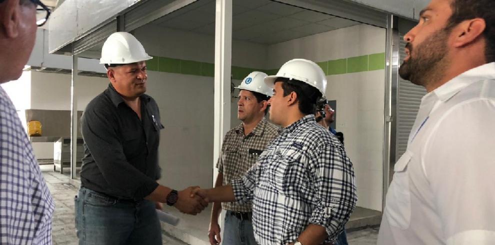 Construcción del nuevo Mercado Público de Chitré con un 70% de avance