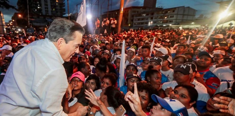 Cortizo se comprometió a mejorar la seguridad nacional