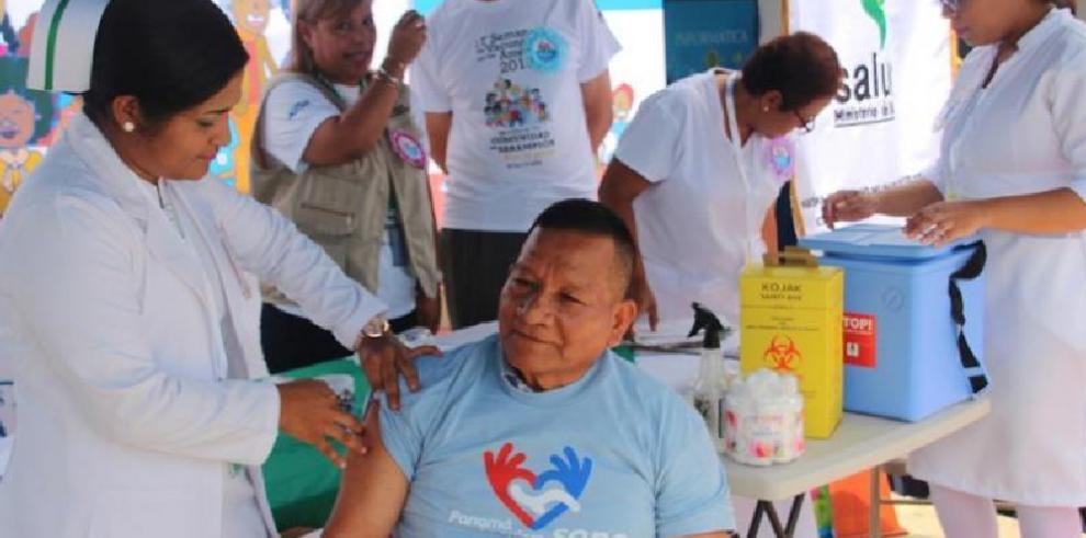 Más de 130 mil personas inmunizadas en la Semana de Vacunación de Las Américas
