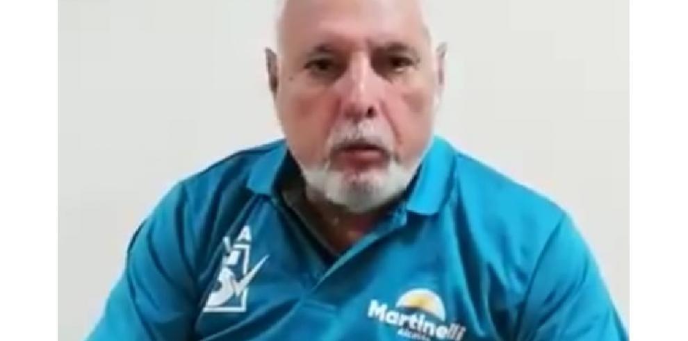 """Martinelli: La decisión del TE es una """"amarga noticia"""""""
