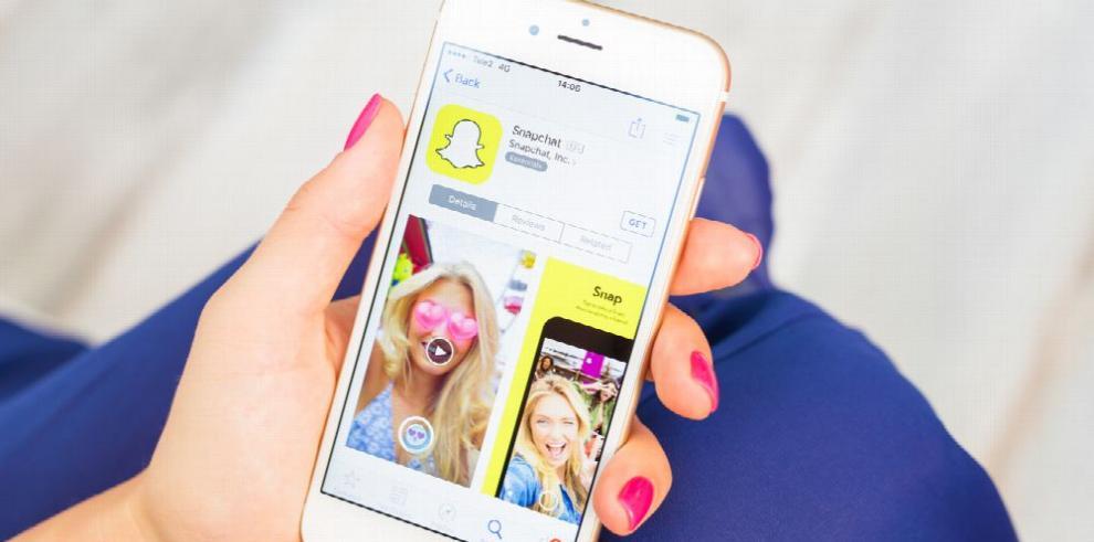 Snapchat, una de las aplicaciones más utilizadas en el mundo