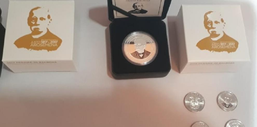 Conmemoran bicentenario deDr. Justo Arosemena con circulación de moneda