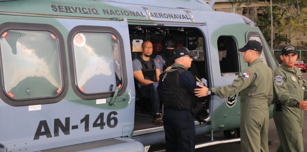 'Patrón Juancito', trasladado a penal de isla Punta Coco