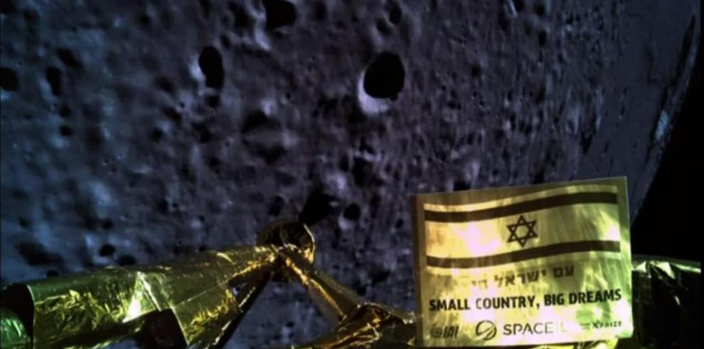 Fracasa intento de aterrizaje lunar del módulo israelí Bereshit