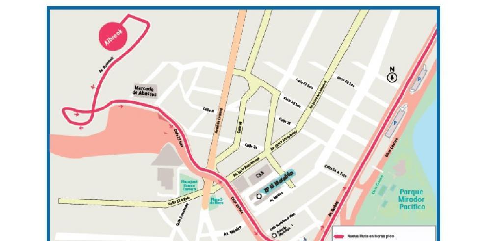 En horas picos, rutas metrobús corredor sur no parará en la Zona Paga de Marañón