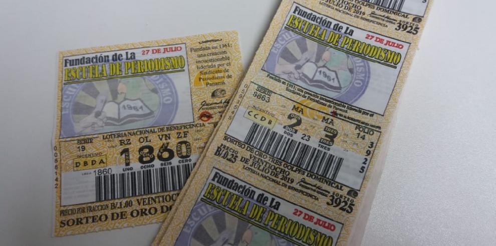 Lotería distingue aniversario de la Escuela de Periodismo en sorteo dominical