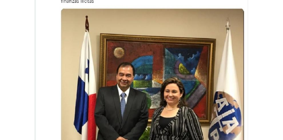 Procuradora Porcell se reunió con fiscal de Colombia